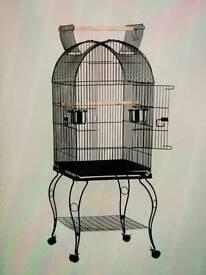 Parrott cage