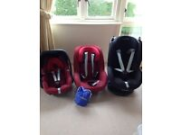 Car seats - maxi cost pearl, pebble and tobi