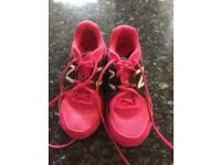 New Balance Pink Trainers Sz 4