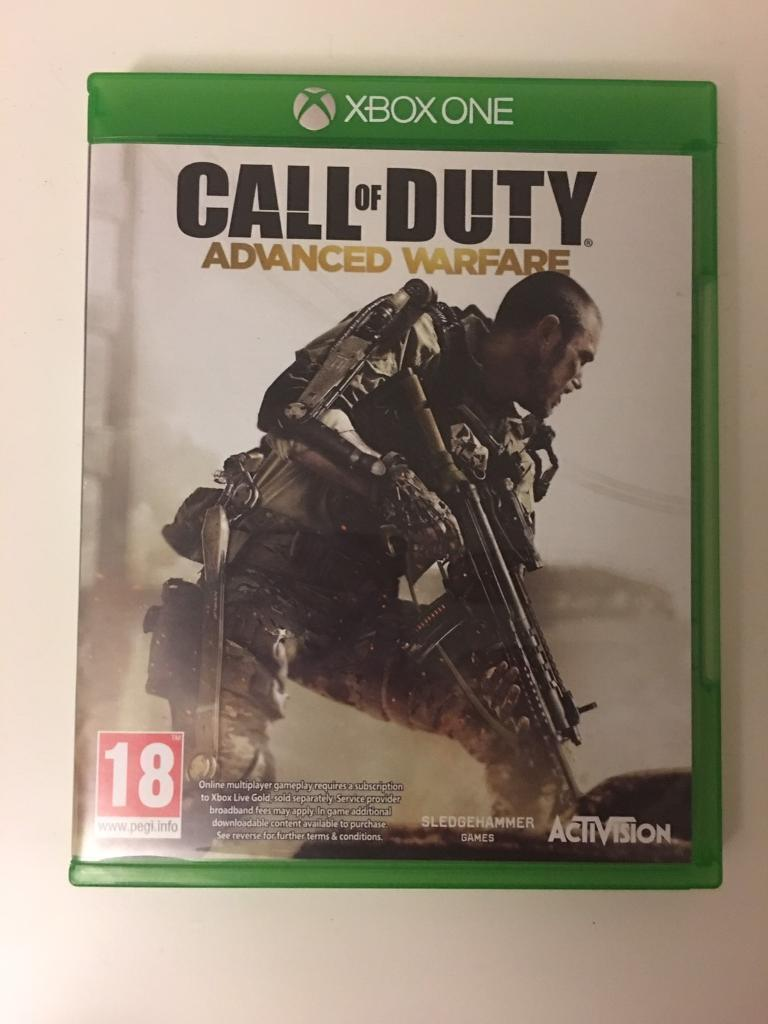 Call of duty: advanced warfare, Xbox one.