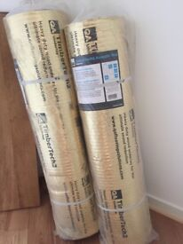 Brand New/untouched - 2 x Wood/Laminate Underlay - Excellent noise reduction