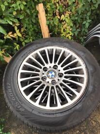 Bmw/vauxhall vivaro/trafic/primaster wheels+new tyre have 6.2mm 215/60/R17