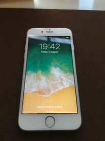 iPhone 6s 16GB Silver Unlocked (excellent condition)