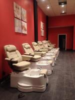Pedicure salon chairs and spa equipment, New!