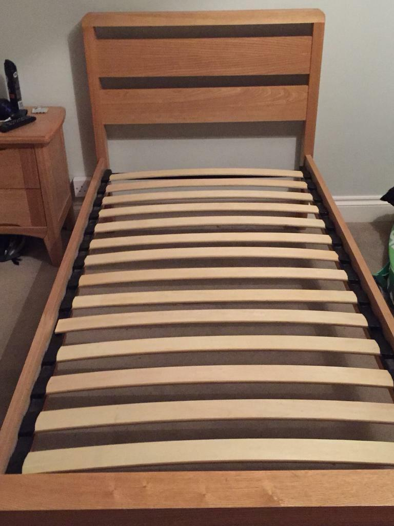 Single Bed in Ash Wood
