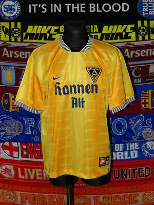 5/5 Alemannia Aachen adults XL 1998 MINT ultra rare football shirt jersey trikot image