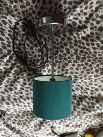 blue bedside lamps
