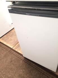 White Hotpoint undercounter freezer good condition with guarantee