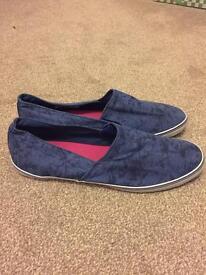 Topman blue slip on, size 11