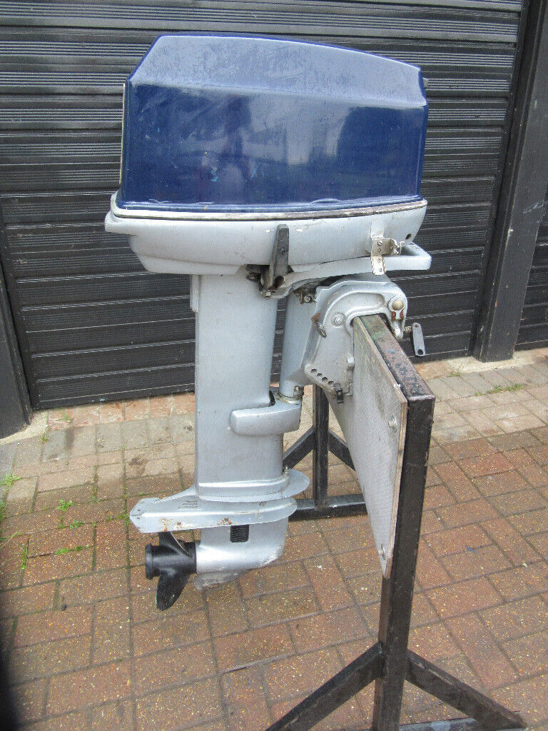 EVINRUDE OUTBOARD ENGINE 35 HP 2 STROKE LONG SHAFT BOAT FISHING CRUISER RIB  | in Norwich, Norfolk | Gumtree