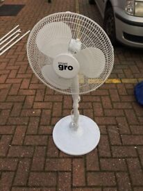 """Cheshunt Hydroponics Store - used stand up pedestal fan 16"""""""