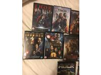 MARVEL DVD collection