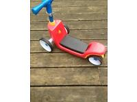 Little tikes 3 way scooter