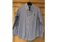 Ralph Lauren boys shirt, age 4.