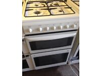 Gas cooker white 50cm....,,Free Delivery