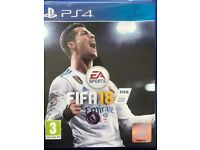 Fifa 18 game ps4 brand new