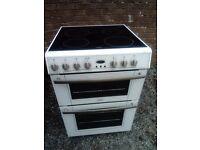 Cooker electric 60cm, ceramic top