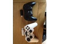 WIRELESS PS3 COMPATIBLE CONTROLLERS BRAND NEW WITH NO BOX PICK UP FROM WYMONDHAM WHITE BLACK £3 EACH