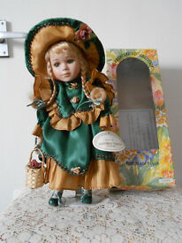 "Tammy, Knightsbridge Collection 12"" Porcelain Doll"