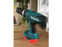 Makita 18v cordless drill boxed