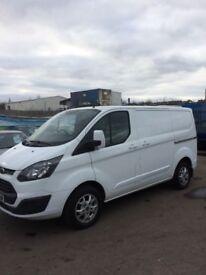 Transit custom 2014/64 reg one owner NO VAT £8500 NO VAT