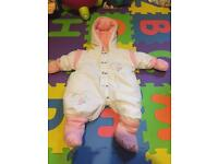 Baby girl suit 0-3months
