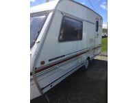 2 birth caravan excellent condition