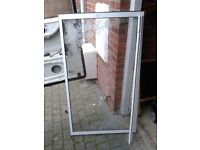 OVER (NOT FULL LENGTH) BATH SHOWER PERSPEX SCREEN, WITH WALL SUPPORT,CAN DELIVER