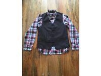 Boys Shirt & Waistcoat Set