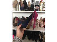 X9 pairs of Heels Size 3 need gone asap £50 for the lot ,,,