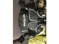 Wolf child's body armour