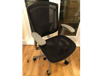Okamura Contessa Office Chair - ergonomic (lumbar support) adjust