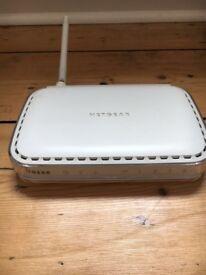 NETGEAR WiFi witless ADSL Modem router