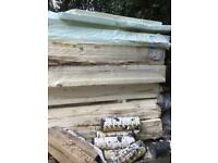 23 sheets of 75mm expanded polystyrene claymaster