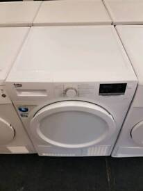 Beko 8kg condenser dryer with warranty and fast delivery