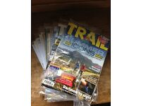 "12 ""Trails"" magizines , free ! never been read !"