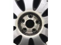 Audi A3 alloy wheels and tyres