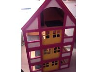 Dolls house with free furniture