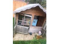 Kids playhouse and kitchen