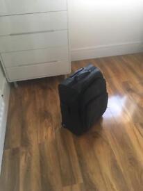 Billabong leather suitcase