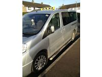 2008 9 Seater Fiat Scudo Taxi Bus Not VW or Skoda