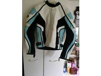 Ladies motorbike jacket - size 36