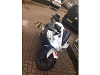 Yahama R125 2011 MOT AND TAX with jacket, helmet, locks and cover