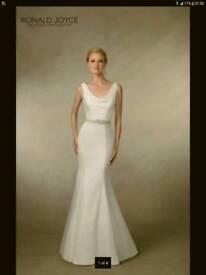 BNWT Ronald Joyce wedding dress size 14