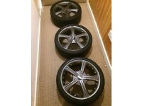 17 alloys wheels 5x114 fitment