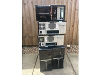 5 x computer pc cases with psu 300w £10 for the lot!!!