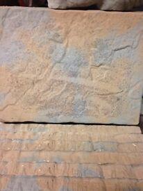 450x450 riven patio slabs
