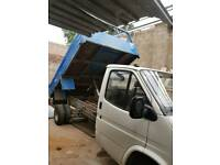 Ford transit pick up tipper smiley front 2.5 di