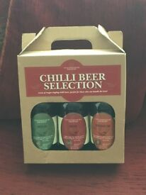 Chilli Beer Selection.