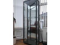 Argos glass display cabinet